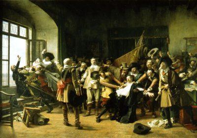 Defenestrering i 1618